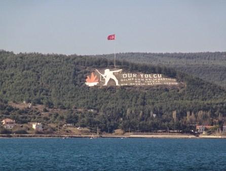 Dur Yolcu! in Çanakkale, Turkey
