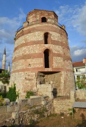 Macedonian Tower in Edirne, Turkey