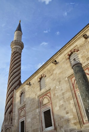 Üç Şerefeli Camii in Edirne, Turkey