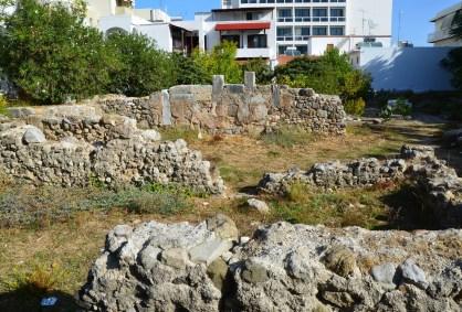 Roman baths in Kos, Greece