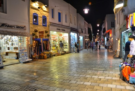 Cumhuriyet Caddesi in Bodrum, Turkey