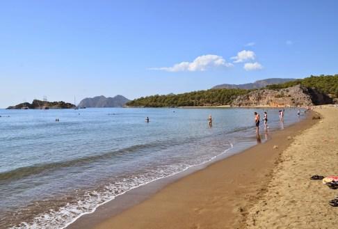 İztuzu Beach in Turkey