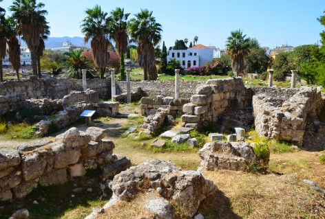 Basilica at the Agora in Kos, Greece