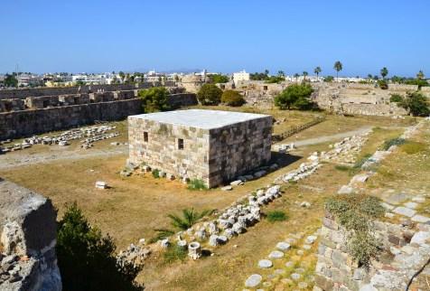 Castle of Neratzia in Kos, Greece