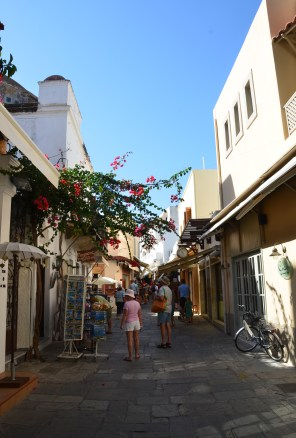 Old town in Kos, Greece