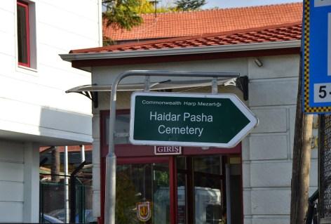 Haidar Pasha Cemetery in Selimiye, Üsküdar, Istanbul, Turkey