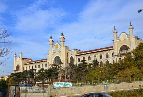 Marmara Üniversitesi in Selimiye, Üsküdar, Istanbul, Turkey