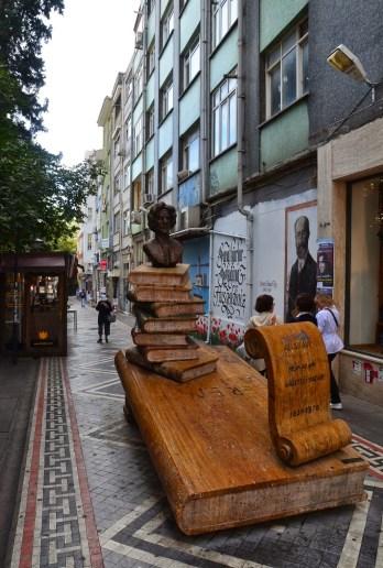 Ali Suavi Sokak in Moda, Kadıköy, Istanbul, Turkey