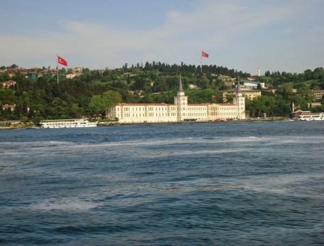 Kuleli Askeri Lisesi in Çengelköy, Istanbul, Turkey