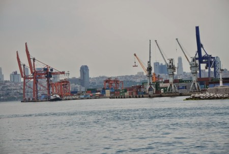 Haydarpaşa Limanı in Selimiye, Üsküdar, Istanbul, Turkey