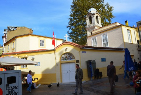 Agia Efimia Greek Orthodox Church in Kadıköy, Istanbul, Turkey