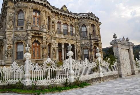 Küçüksu Kasrı in Istanbul, Turkey