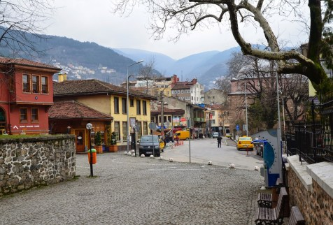 Yeşil area in Bursa, Turkey