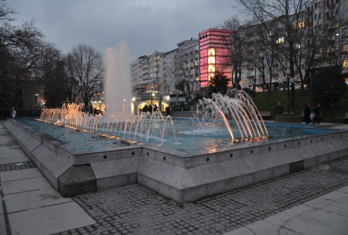 Koza Parkı in Bursa, Turkey