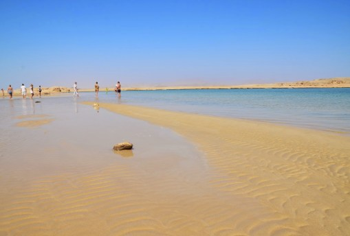 Magic Lake at Ras Mohammad National Park in Sinai, Egypt