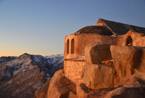 Orthodox church on Mount Sinai, Egypt