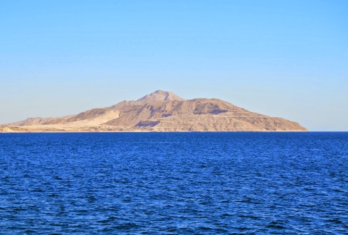Tiran Island in the Red Sea, Egypt