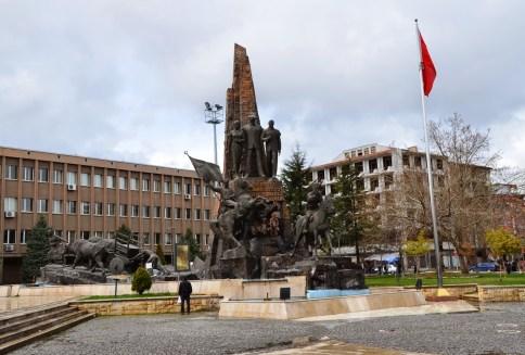 Atatürk Anıtı in Uşak, Turkey
