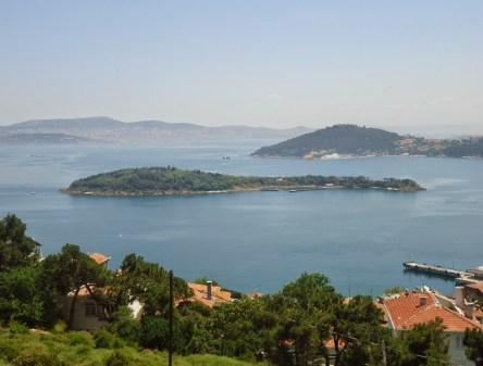 Kaşık Adası at Princes' Islands, Istanbul, Turkey