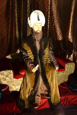 Kanuni Sultan Süleyman at Jale Kuşhan Balmumu Heykel Müzesi at İstanbul Sapphire in Turkey