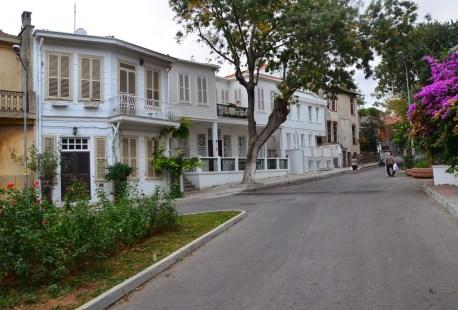 Ottoman homes on Büyükada, Istanbul, Turkey