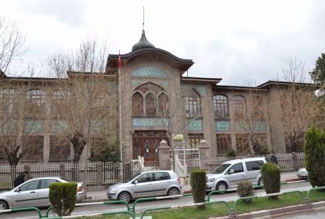 Afyon Lisesi in Afyon, Turkey