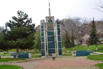 Turkish Republic monument in Bilecik, Turkey