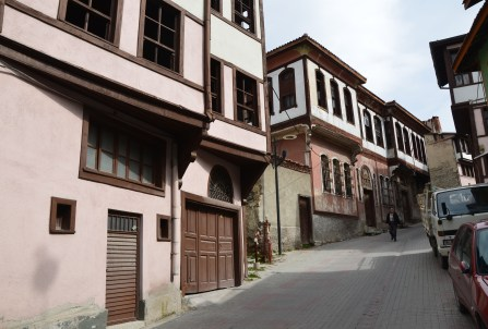 Ahi Erbasan Caddesi in Kütahya, Turkey