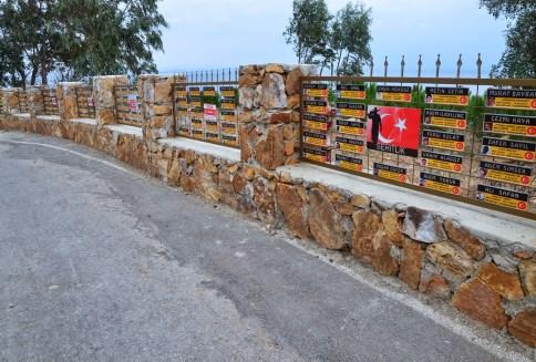 Terrorism victims memorial on Büyükada, Istanbul, Turkey