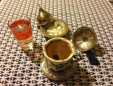 Türk kahvesi at Kasr-ı Nur in Odunpazarı, Eskişehir, Turkey