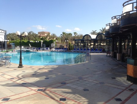 Oasis Hotel in Cairo, Egypt