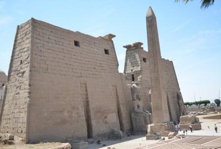 Luxor Temple in Luxor, Egypt