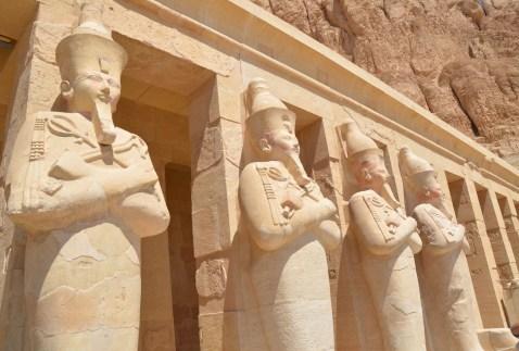 Temple of Hatshepsut in Luxor, Egypt