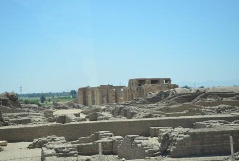 Ramesseum in Luxor, Egypt
