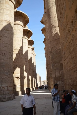 Hypostyle Hall at Karnak Temple in Luxor, Egypt