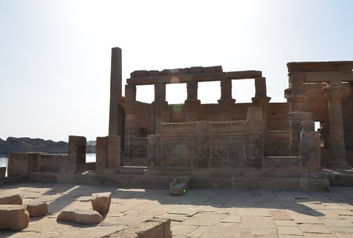 Temple of Nectanebo at Philae Temple on Agilkia Island in Egypt