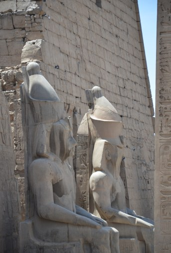 Luxor Temple in Luxor, Egypt