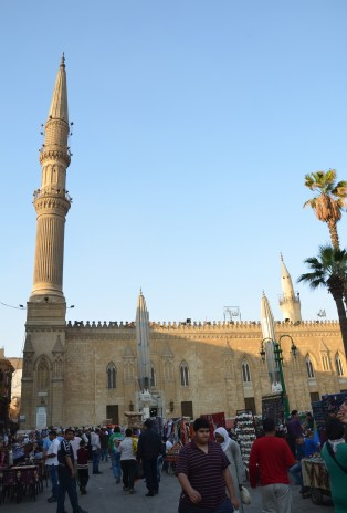 Sayyidna al-Hussein Mosque in Cairo, Egypt