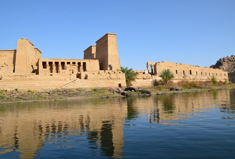 Philae Temple on Agilkia Island, Egypt