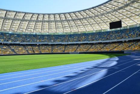 Olimpiyskiy National Sports Complex in Kiev, Ukraine