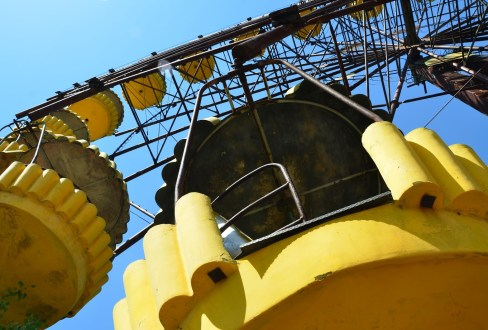 Ferris Wheel in Pripyat, Chernobyl Exclusion Zone, Ukraine
