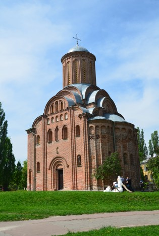 Pyatnitska Church in Chernihiv, Ukraine