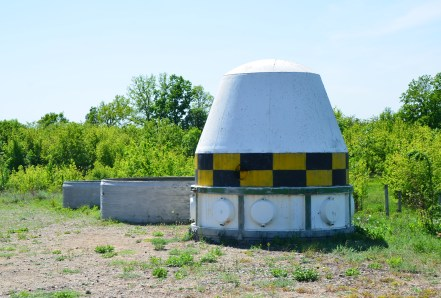 RS-22 missile at Strategic Missile Forces Museum near Pobuzke, Ukraine