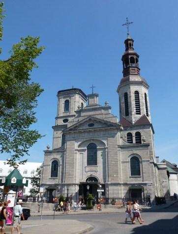 Notre-Dame de Québec in Québec, Canada