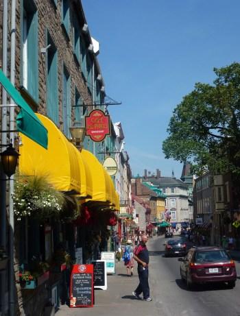 Rue Saint-Louis in Québec, Canada