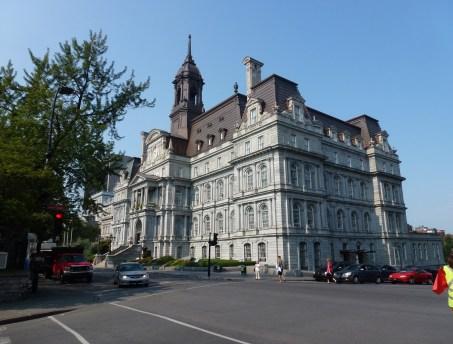 Hôtel de ville in Vieaux-Montréal, Québec, Canada