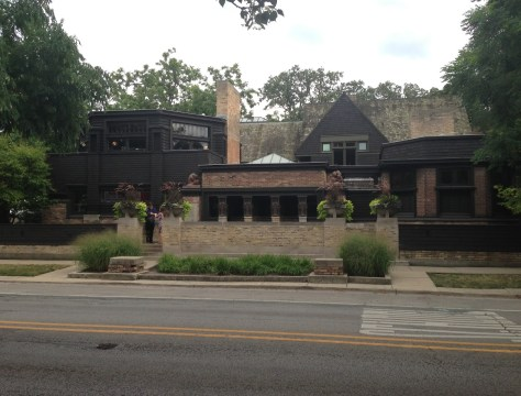 Frank Lloyd Wright Home and Studio in Oak Park, Illinois