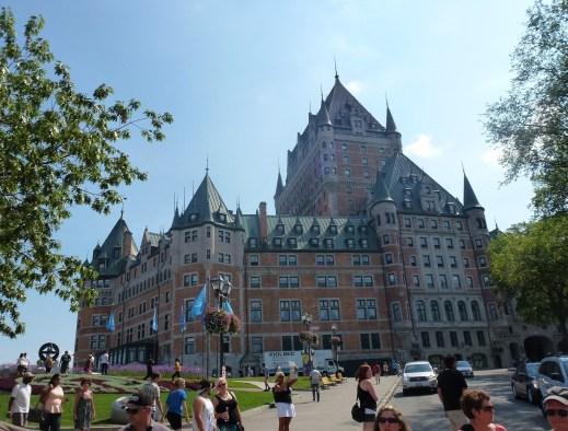 Château Frontenac in Québec, Canada