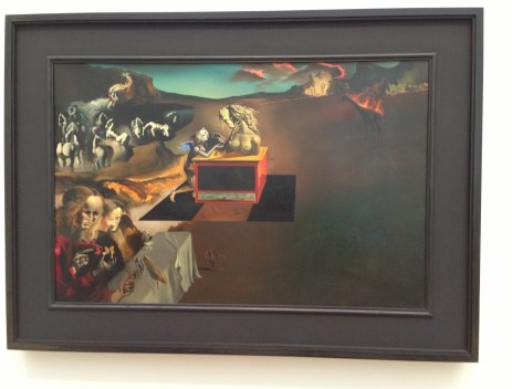 Inventions of the Monsters by Salvador Dalí (1937) at the Art Institute of Chicago
