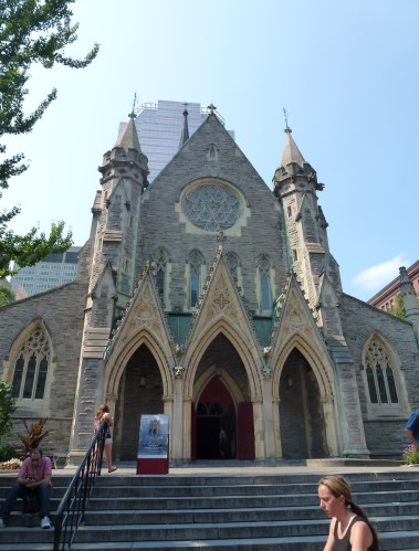 Christ Church Cathedral in Montréal, Québec, Canada